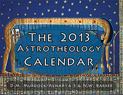 The 2013 Astrotheology Calendar front cover