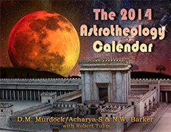 The 2014 Astrotheology Caldendar front cover