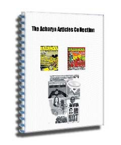 Acharya Articles Collection