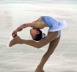 Caronline Zhang at the Grand Prix 2007 (Photo: Alberto Sepe)