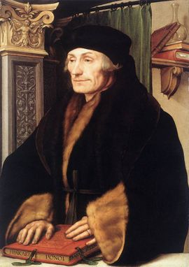 Erasmus, by Holbein the Younger (1523)