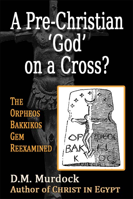 A Pre-Christian 'God' on a Cross?