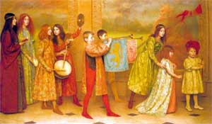 Thomas Cooper Gotch's 'The Pageant of Childhood'