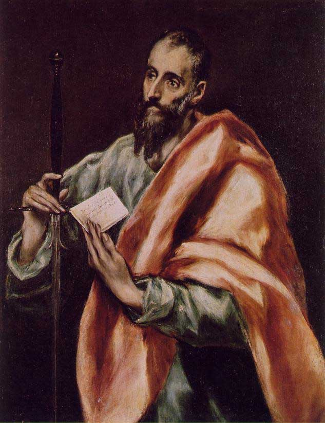 'St. Paul' by El Greco, Museo del Greco, Toledo, Spain