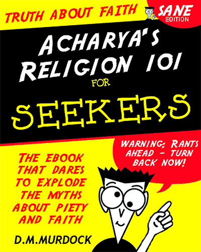 Acharya's Religion 101 for Seekers cover image
